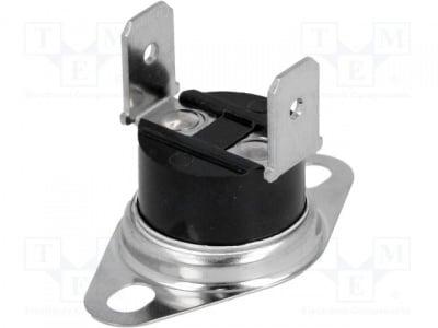Биметален термостат BT-H80V Датчик термостат Конф.на изхода NC Topen 80°C Tclos 60°C 10A